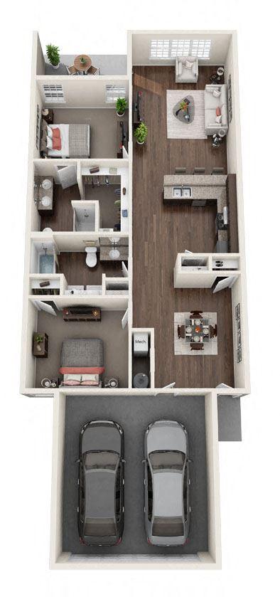 DeWitt Michigan Apartment Rentals Redwood DeWitt Breezewood Floor Plan