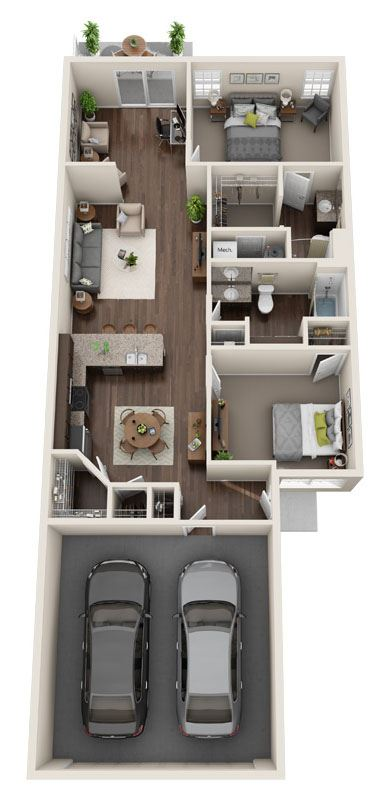 DeWitt Michigan Apartment Rentals Redwood DeWitt Forestwood Floor Plan