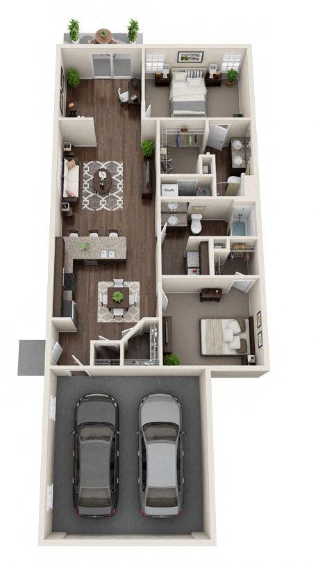 DeWitt Michigan Apartment Rentals Redwood DeWitt Meadowood Floor Plan