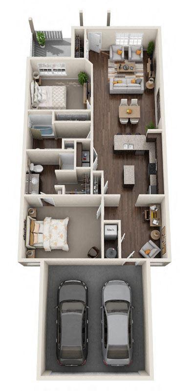 Brownstown Michigan Apartment Rentals Redwood Brownstown Sibley Road Haydenwood Floor Plan