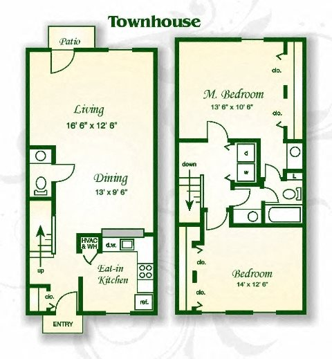 Apartments For Rent In Rock Hill Sc: Floor Plans Of Beaver Creek Apartments And Townhomes In
