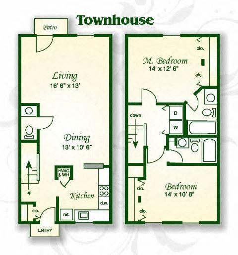 The Dogwood Townhouse