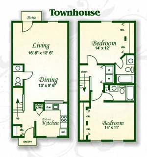 The Dogwood Townhouse EIK