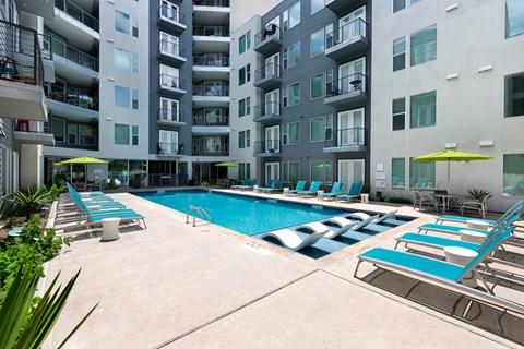 Pool Lounge Space