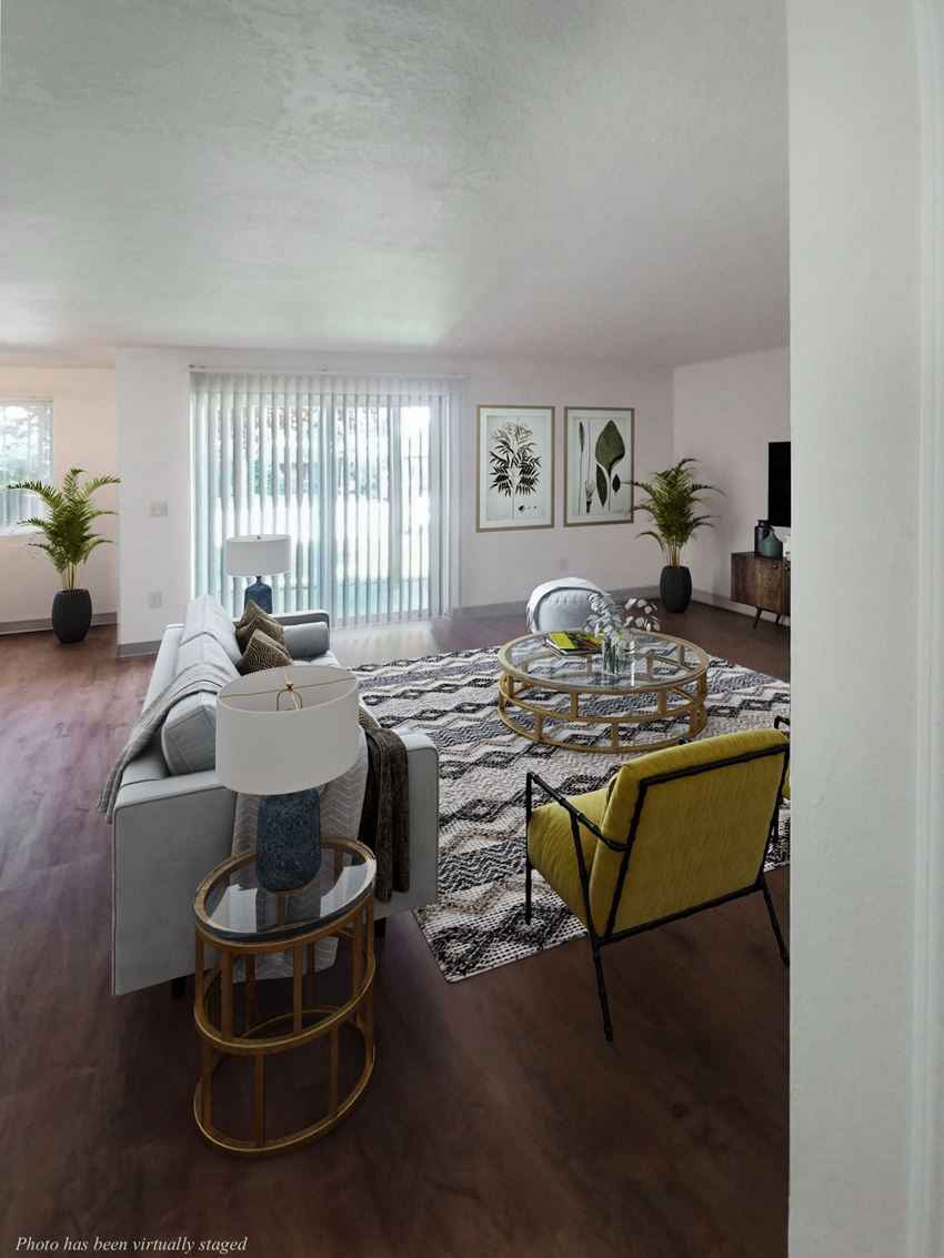 Towncenter living room with virtual furniture
