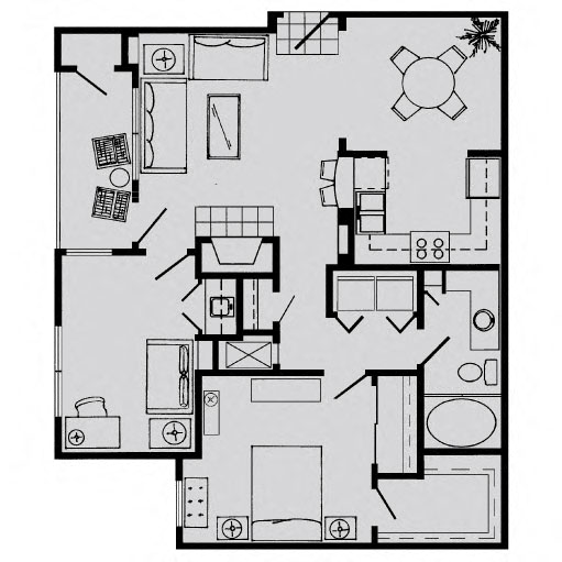 Richdale Apartments: Floor Plans Of The Biltmore Apartments In Omaha, NE