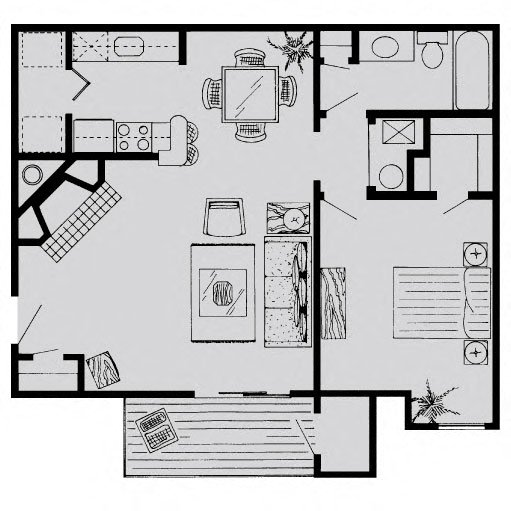 Richdale Apartments: Floor Plans Of LionsHead Apartments In Omaha, NE
