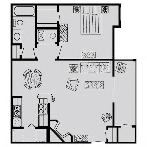 Richdale Apartments: Floor Plans Of The Vanderbilt Apartments In Omaha, NE