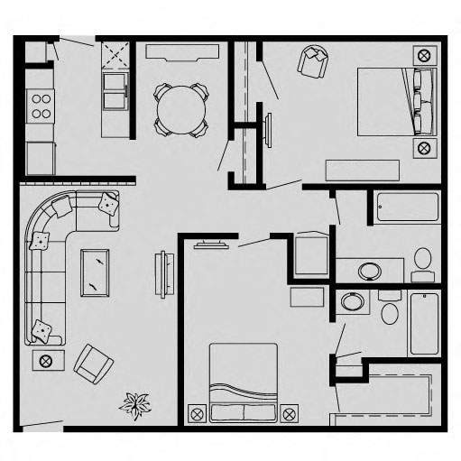 Richdale Apartments: Floor Plans Of Waters Of Winrock Apartments In Houston, TX