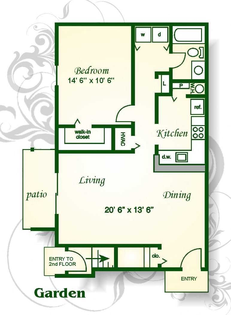Floor Plans Of Bridge Pointe Apartments Amp Townhomes In