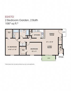 Edisto - 2 bedroom
