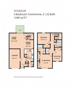 Windsor - 3 bedroom