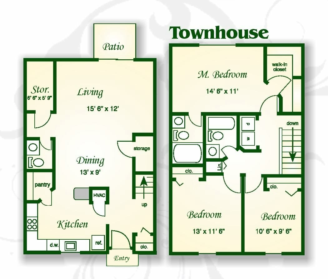 Palms Apt Charleston: Floor Plans Of Shadowmoss Pointe Apartments And Townhomes