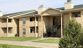 Apartments in Guymon with balconies