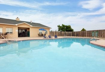 Apache Trace Apartments Pool