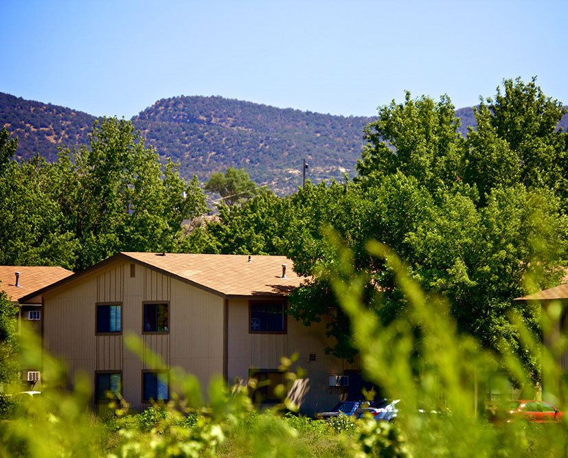 exterior  Country Green Apartments in Canon City CO