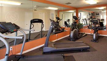 Fitness Center at Granite Valley Apartments