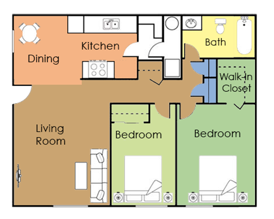 The Rosemount Floor Plan 2