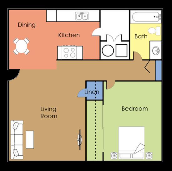El Pueblo Floor Plan 1