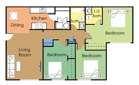 The Mesa Floor Plan 3
