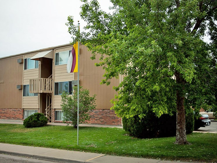 Apartments in Greeley, CO Front