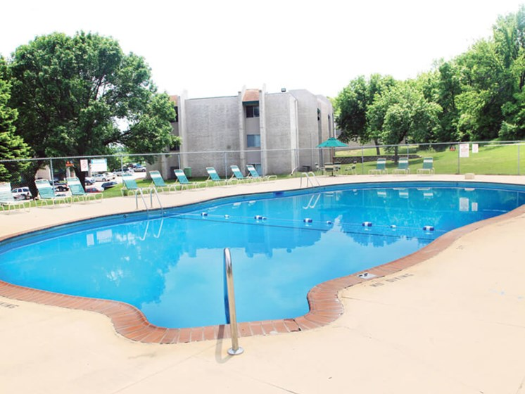 Sparkling Pool at Sherwood Forest Estates in Council Bluffs, IA