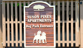Apartments in St. Louis with a dog park