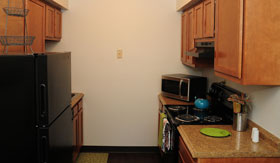 Kitchen of Apartments in St. Louis