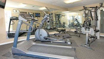 Fitness Center at The Hampton at Coral Ridge Apartments