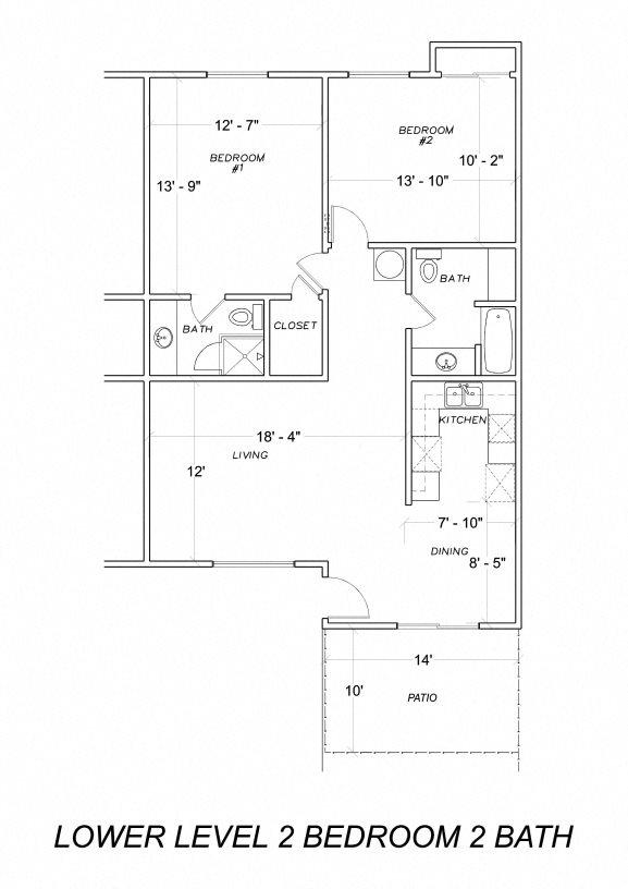 Downstairs Floor Plan 2