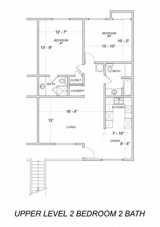 Upstairs Floor Plan 1