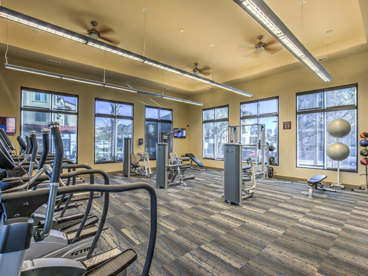 Two Level Fitness Center at The Vineyards at Paseo del Sol, California, 92592