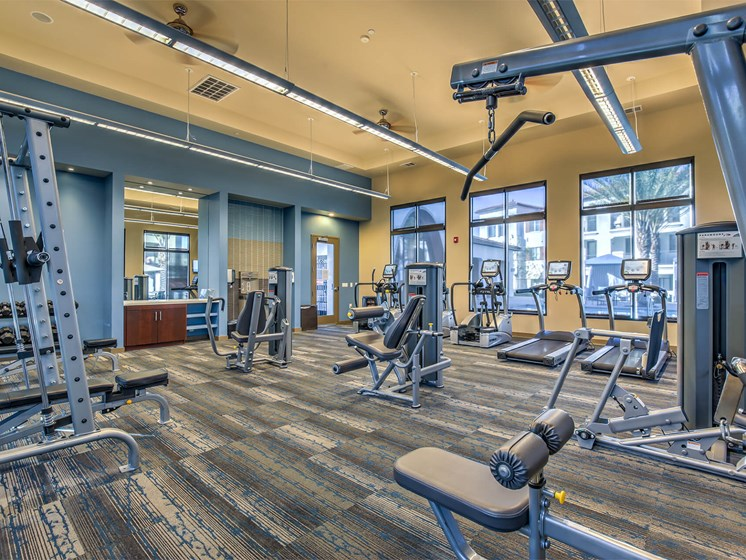 State Of The Art Fitness Center at The Vineyards at Paseo del Sol, Temecula