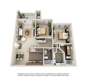 Two Bedroom B2