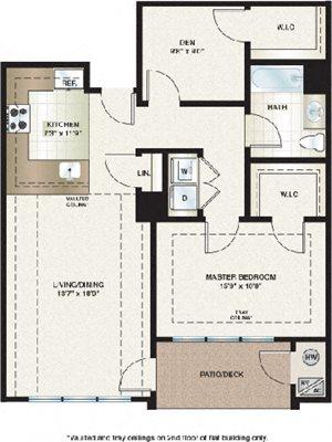 Parkland View Apartment Floor Plan