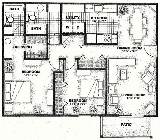 Natchez Floor Plan 2