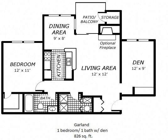 Garland Floor Plan 3