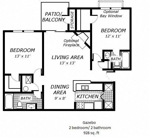 Gazebo Floor Plan 5