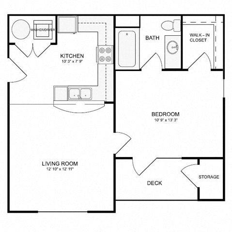 Hetzler (A1) Floor Plan 3