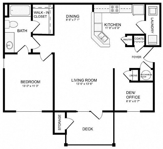 Conner (A4) Floor Plan 8
