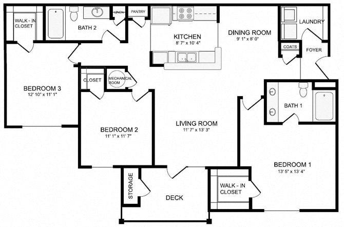 Lupton (C1) Floor Plan 7