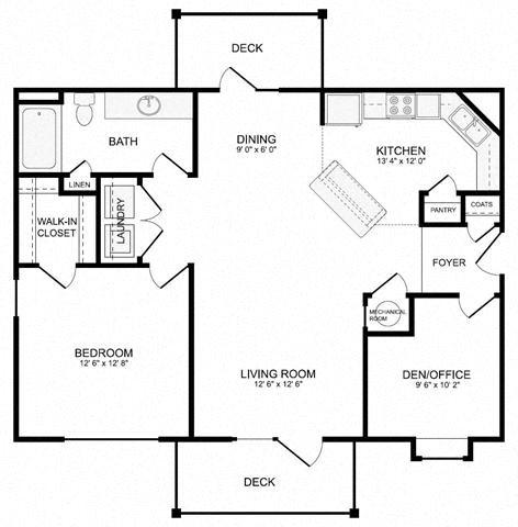 Wailing (G1) Floor Plan 1