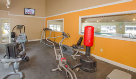 Fitness Center at Apartments in Muskegon
