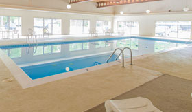 Indoor Pool at Tiffany Woods Apartments in Muskegon