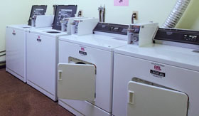 Laundry Facilities at Apartments in Muskegon