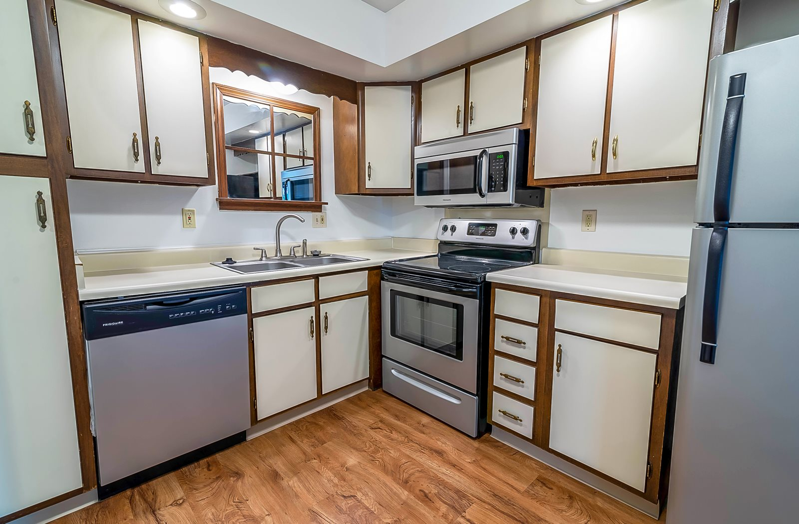 Updated Kitchens at Tiffany Woods Apartments Muskegon MI