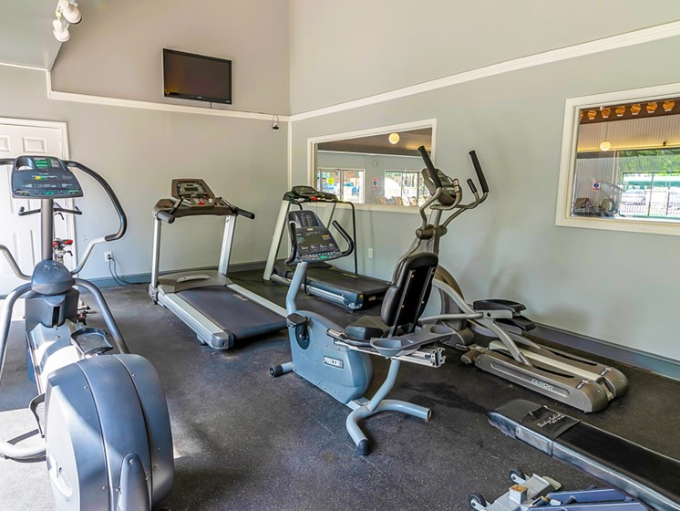 Fitness Center at Tiffany Woods Apartments Muskegon MI