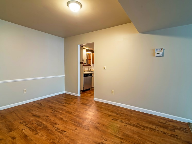 Hardwood Floors at Tiffany Woods Apartments in Muskegon MI