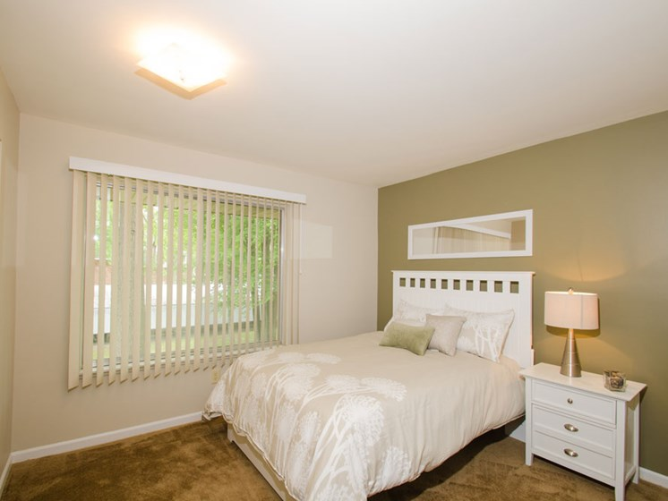Large Bedrooms at Tiffany Woods Apartments in Muskegon MI