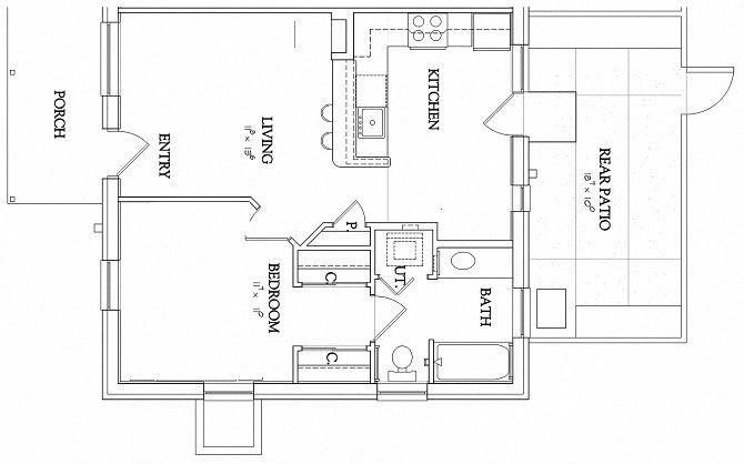 1 Bedroom - Garden